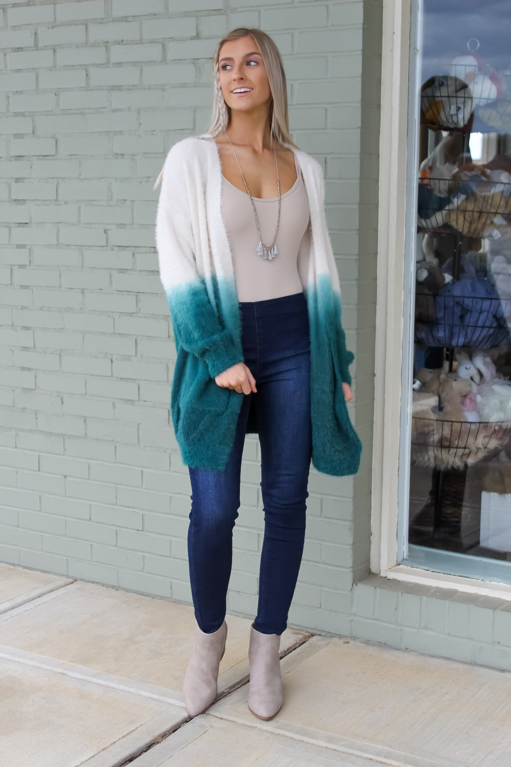 Zara Soft Dipped Cardigan