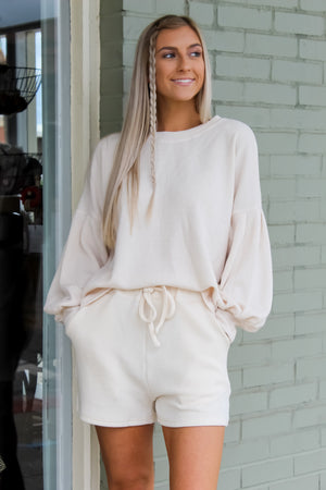 Heavy Knit Lounge Top