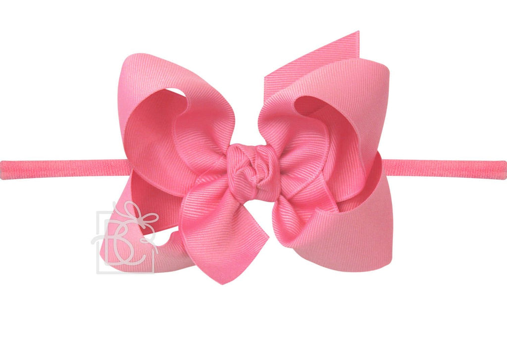 "1/4"" Pantyhose Headband - Signature Grosgrain Bow"