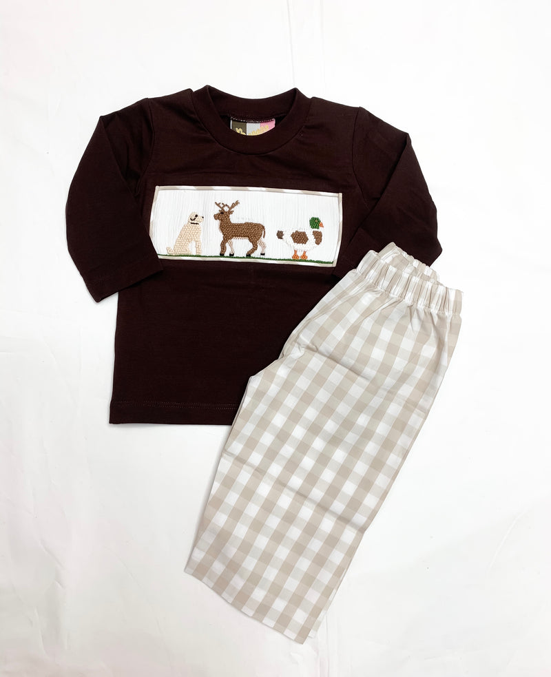 Hunting Camp Boys Pant Set