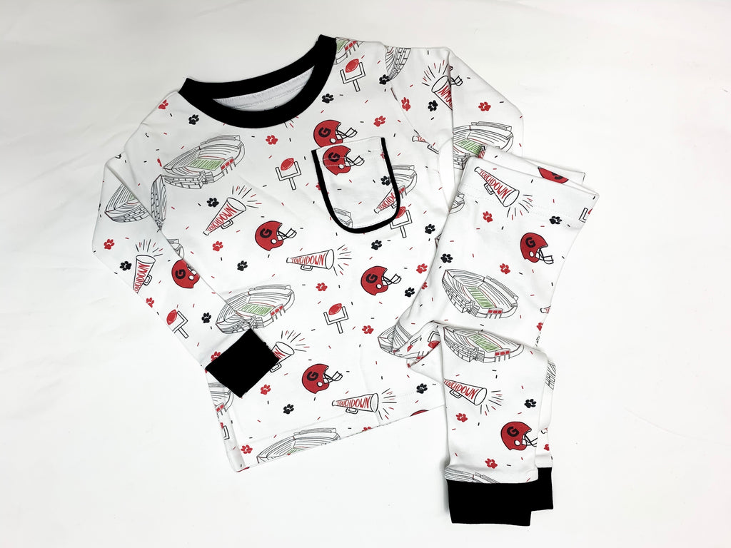 Georgia Football Pajama Set