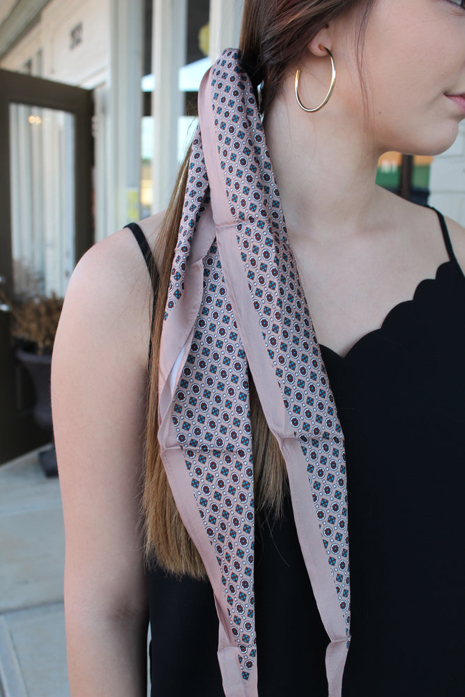 Mosaic Hair Scarf