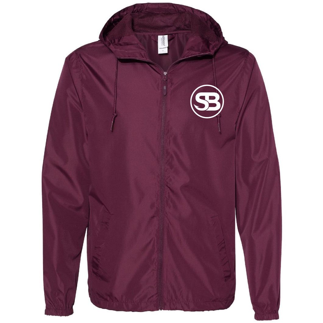 SB Fishing Lightweight Jacket - Maroon