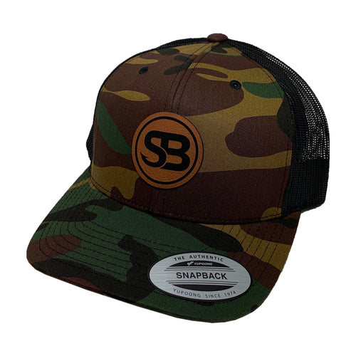 SB Leather Patch Snapback