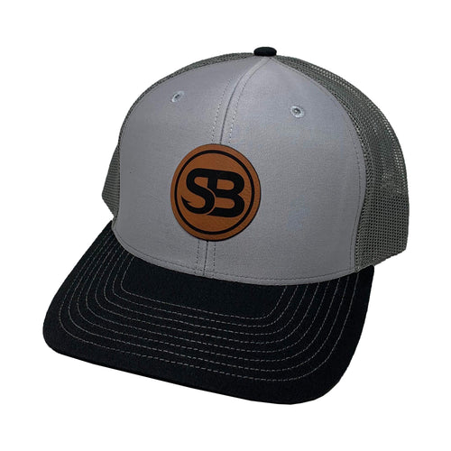 SB Fishing Leather Patch Snapback