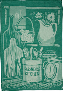 dish towel -farmhouse kitchen