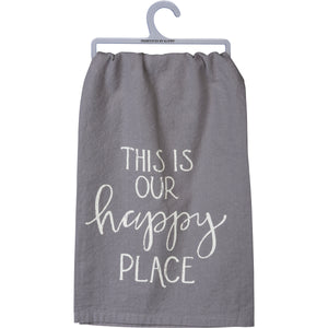 Happy Place tea towel