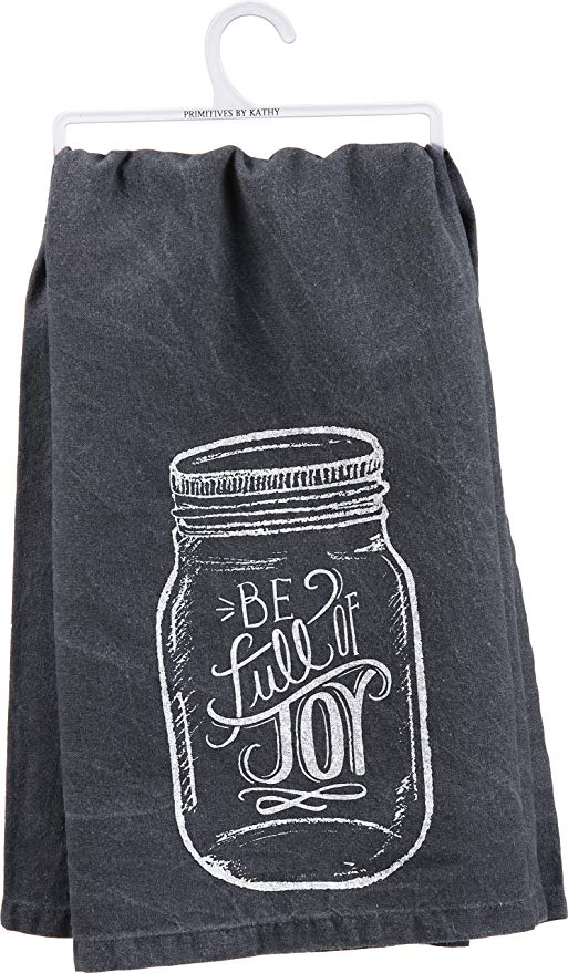 dish towel - be full of joy