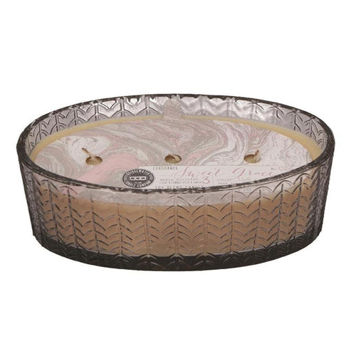 Bridgewater Sweet Grace Oval 3 wick candle