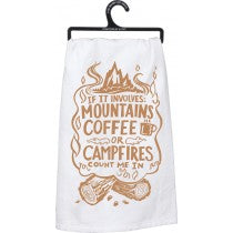 dish towel - If It Involves Mountains...