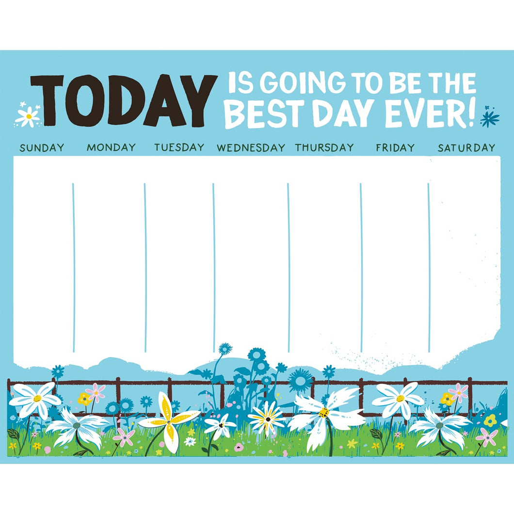 Notepad - Best Day Ever