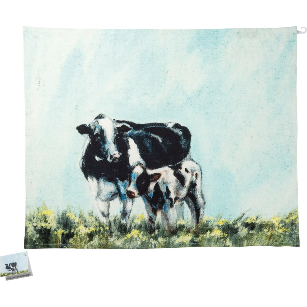 Dish Towel - Cow & Calf