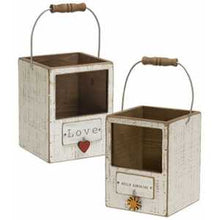 Load image into Gallery viewer, HOME & Hello Sunshine charm Lantern Boxes