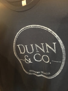 Dunn & Co. Screenprint Shirt - navy