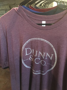 Dunn & Co. Screenprint Shirt - heather maroon