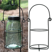 Mason Jar Hanging Caddy