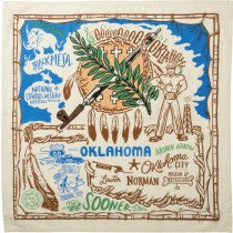 dish towel - Oklahoma (Large)