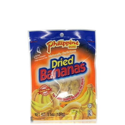 Dried Bananas 3.5oz - Philippines Mangoes