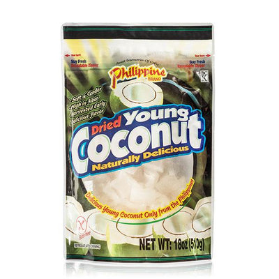Dried Young Coconut 18oz - Philippines Mangoes
