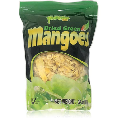 Dried Green Mangoes 30oz - Philippines Mangoes