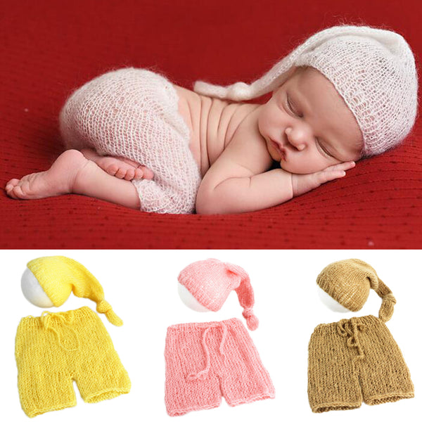 Cute & Soft Hat+Pant Outfit for Baby