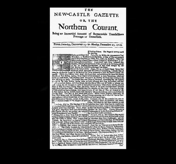 Newcastle Gazette - 25th December 1710