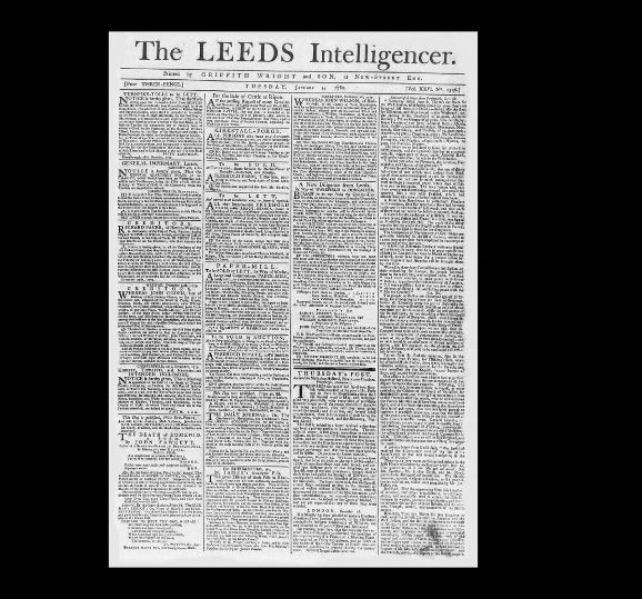 Leeds Intelligencer - 1st January 1780