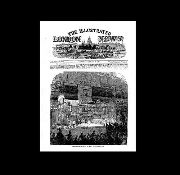London Illustrated News - 7th January 1865