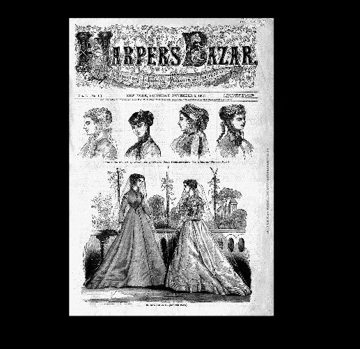 Harpers Bazar - 2nd November 1867
