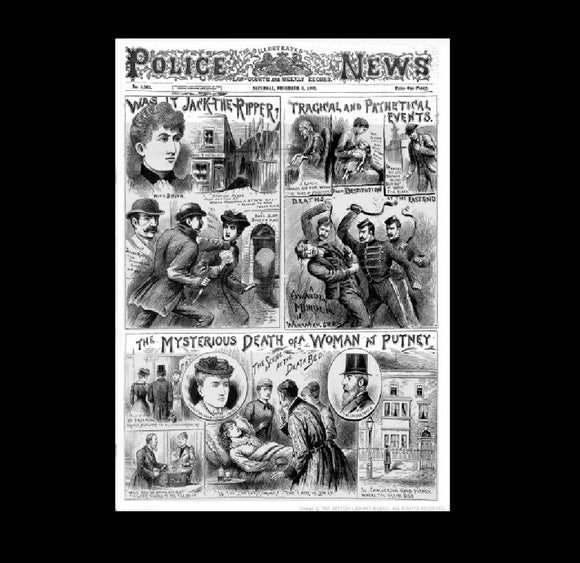Illustrated Police News - Jack the Ripper - 1892