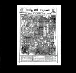 Daily Express - Funeral of Queen Victoria - 1901