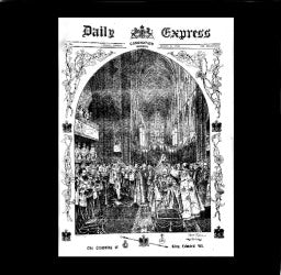 Daily Express - Coronation of Edward VII - 1902
