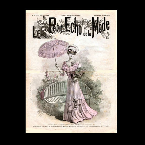 Le Petit Echo de la Mode - French Fashion Mag - 1905