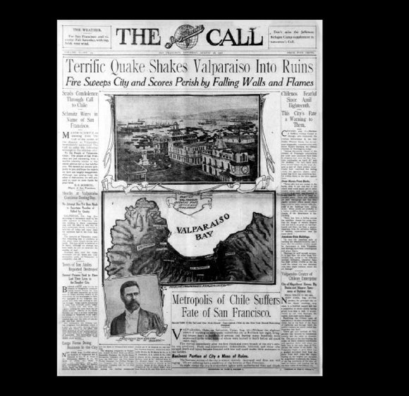 San Francisco Call - San Francisco Earthquake - 1906