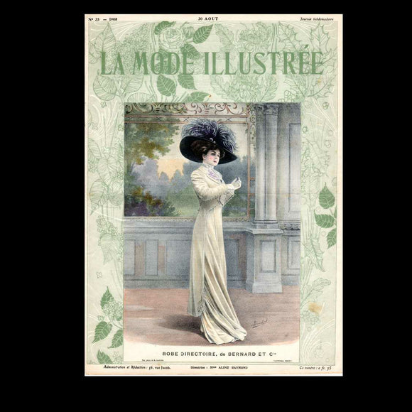 La Mode Illustree - French Fashion Magazine - 1908