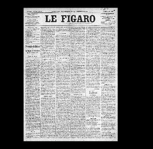 Le Figaro - Louis Bleriot flys the Channel - 1909