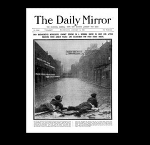 Daily Mirror - Siege of Sidney St - 4th January 1911