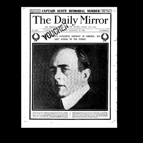 Daily Mirror - Scott of the Antarctic - 1913