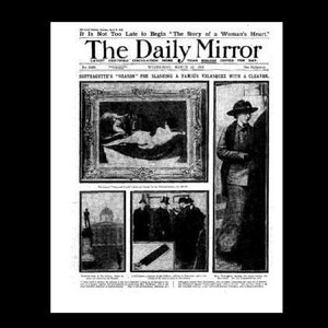 Daily Mirror - Suffragettes - 14th March 1914