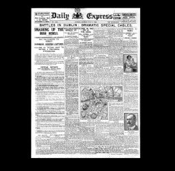 Daily Express - Dublin Easter Rising - 1st May 1916