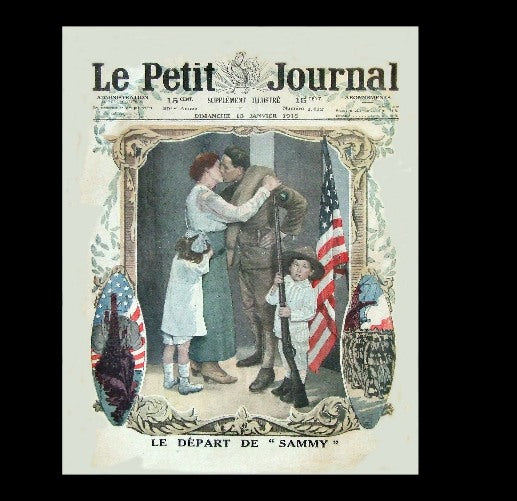 Petit Journal - Colour supplement - 13th January 1918
