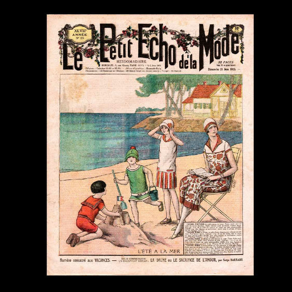 Le Petit Echo de la Mode - Fashion - 1925