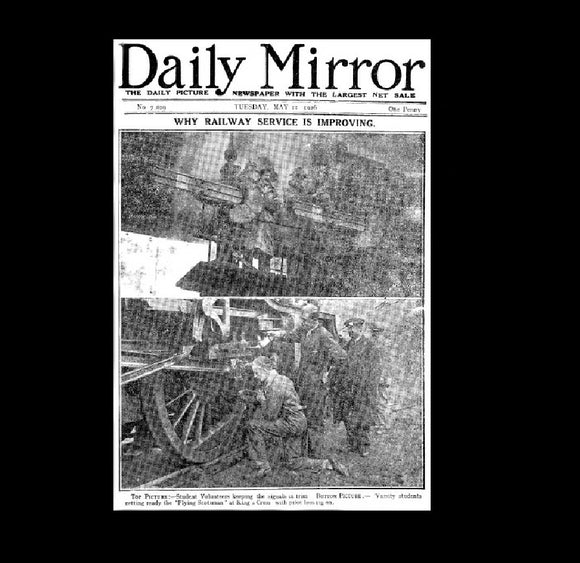 Daily Mirror - General Strike - 12th May 1926
