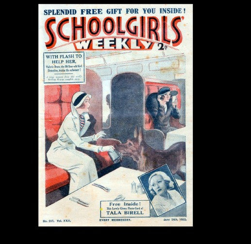 Schoolgirls Weekly - Girls magazine - 1933