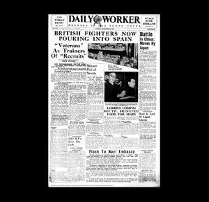 Daily Worker - Spanish Civil War - 15th December 1936