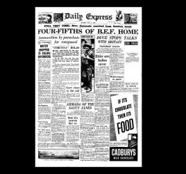 Daily Express - Dunkirk - 1st June 1940