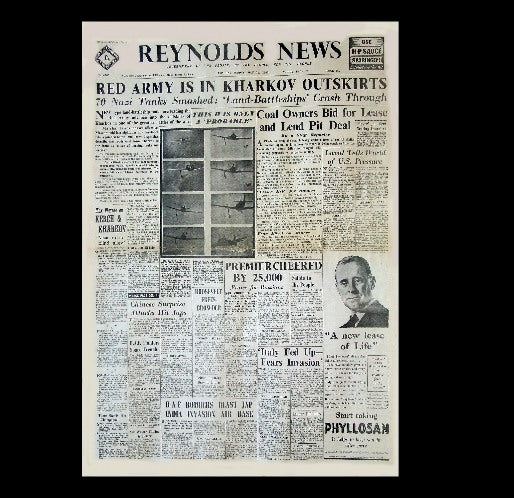 Reynolds News - Russians take Kharkov - 17th May 1942