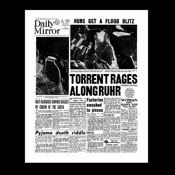 Daily Mirror - The Dam Busters raid - 18th May 1943