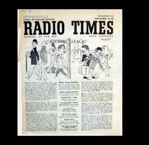 Radio Times - 19th September 1948