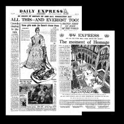 Daily Express - Preparations for the Coronation Elizabeth II - June 2nd 1953